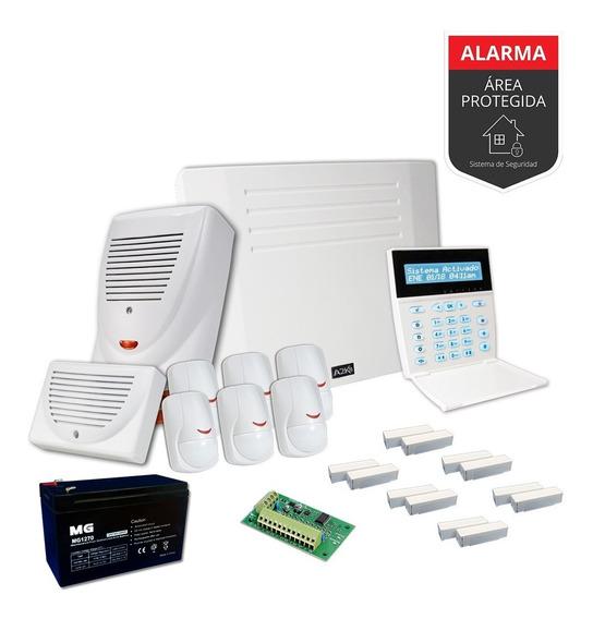 Alarma Para Casa Quinta Kit - Cableado