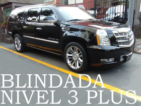 Cadillac Escalade 2012 Blindada Nivel 3+ Blindaje Blindados