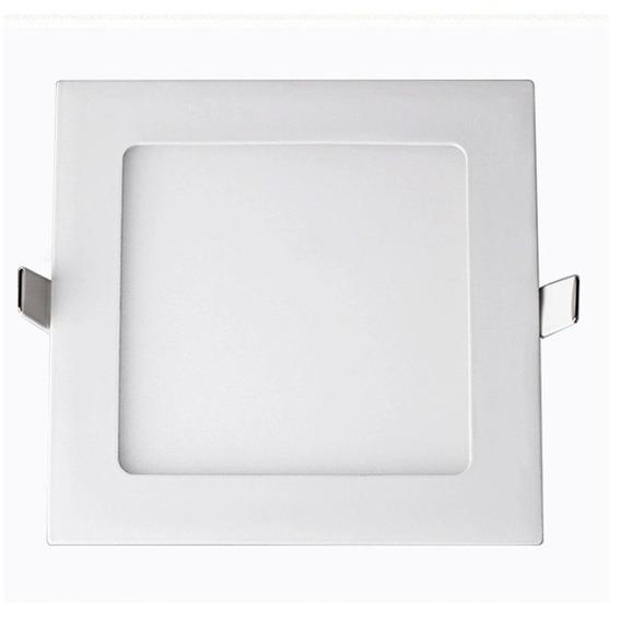 Luminária Led Embutir 12w 6500k Quadrada Rowma