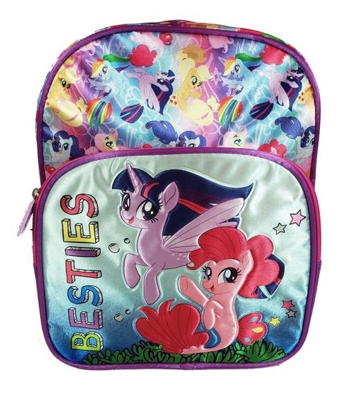 Mochila Niña Kinder Niñ Shopkins Peppa Jorge My Litter Pony