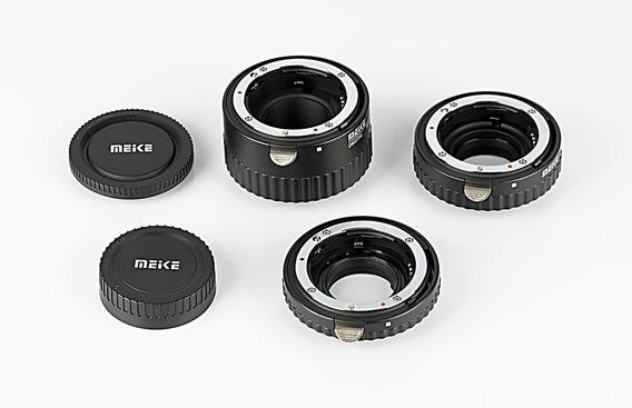 Jogo De Tubos De Extensão Meike Autofoco Para Nikon Macro