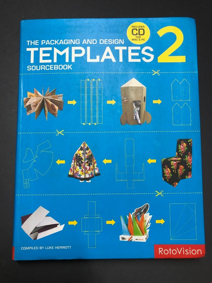 The Packaging And Design Templates 2 - Sourcebook - Com Cd