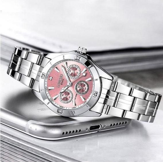 #1 Reloj Little Silver Dama Mujer Acero Inoxidable Waterproof!
