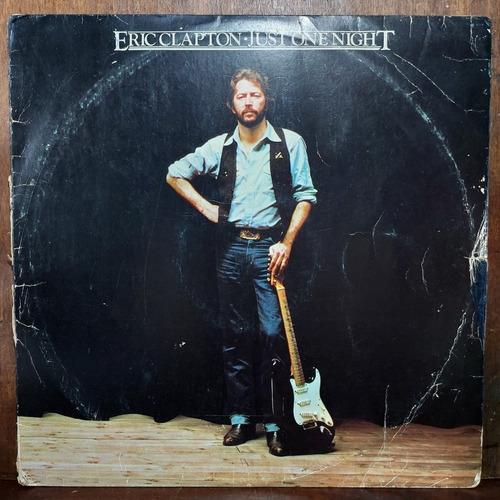 Vinil Lp Eric Clapton Just One Night Duplo
