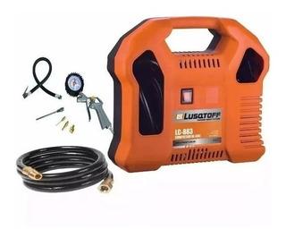 Compresor De Aire Sin Aceite Ecologico Lc-883 Lusqtoff 1000w