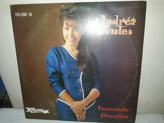 Lp Andréa Fontes Vencendo Desadios 1994 Vol.10 Novissímo