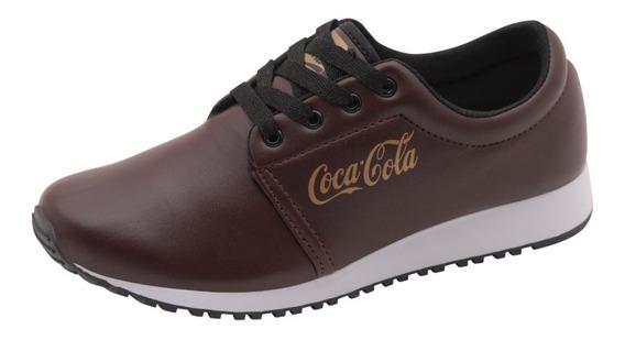 Tênis Coca Cola Fashion Feminino Confortável Atacado Unidade