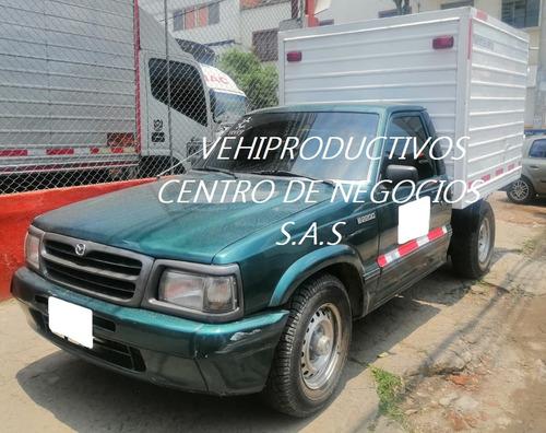 Camioneta Mazda B2200 F/seco 2000 Con Trabajo