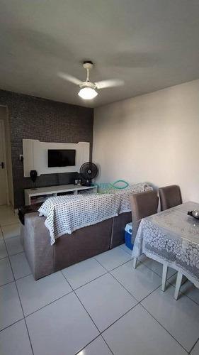 Apartamento Com 1 Dormitório À Venda, 35 M² Por R$ 125.000,00 - Cordovil - Rio De Janeiro/rj - Ap1489