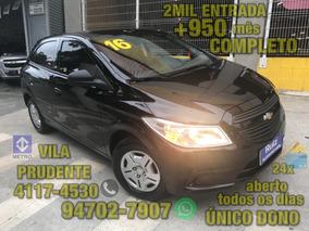 Chevrolet Onix 1.0 Ls Completo Único Dono 2mil Entrada+950