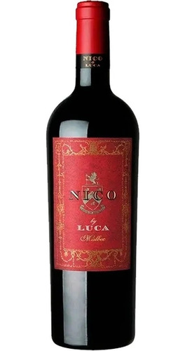 Vino Nico By Luca Malbec Rosas Vineyard 750ml