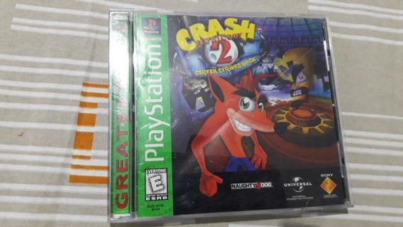 Ps1 Crash Bandicoot 2 Cortex Strikes Back Original 100% #28
