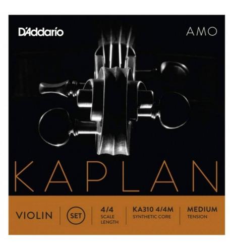 Imagen 1 de 2 de Daddario Ka310 4/4m Karlan Juego De Cuerdas  Para Violín