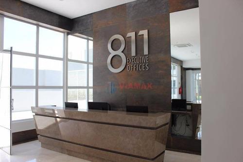 Imagem 1 de 12 de Excelente Sala Comercial - 52m² - 2 Vagas Privativas - Sa0418