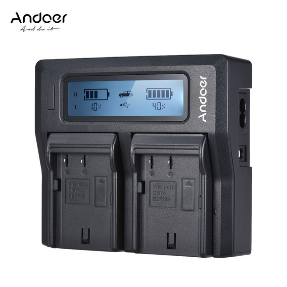 Carregador Andoer Lp -e6 Lp -e6n Dual Ue Color7