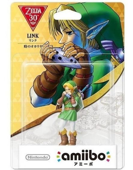 Amiibo Link Ocarina Of Time Zelda 30 Anos Switch Wii U 3ds