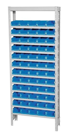 Estante Porta-componentes Com 60 Caixas Ef60/3a