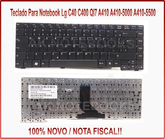 Teclado Lg C40 Lgc40 C400 Lgc 40 P/n Aeql7600010 Novo