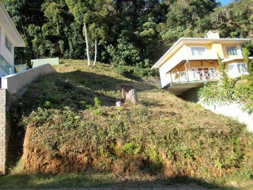 Terreno Residencial À Venda Em Condomínio Alto Padrão, Tijuca, Teresópolis. - Te0051