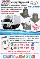 Reparacion De Bomba De Agua Automotriz Hyundai Hd65 3.3 D4al