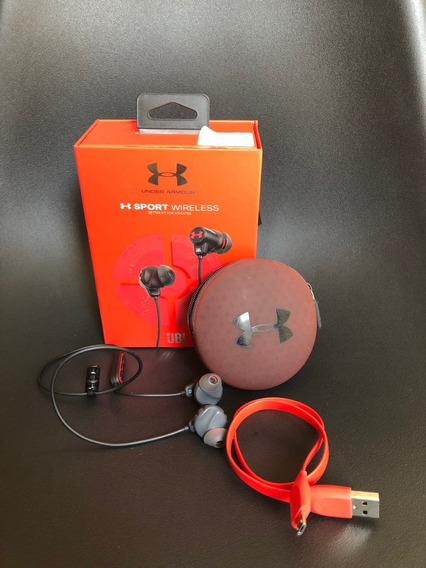 Fone De Ouvido Bluetooth Wireless Jbl Under Armour Sport