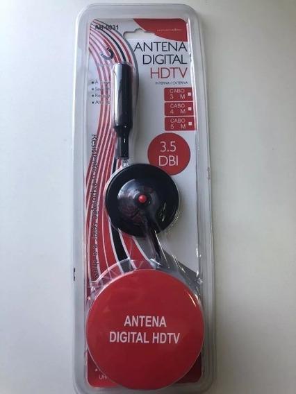 Antena Tv Digital Interna Externa Hdtv Uhf Ah-0031