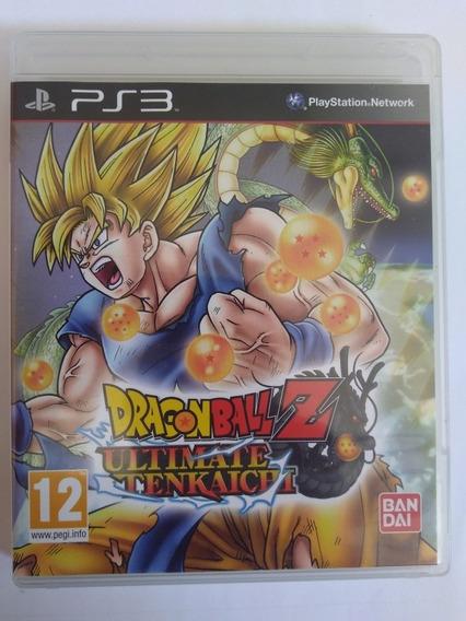 Jogo Dragon Ball Z Ultimate Tenkaichi Ps3 Física R$99,90