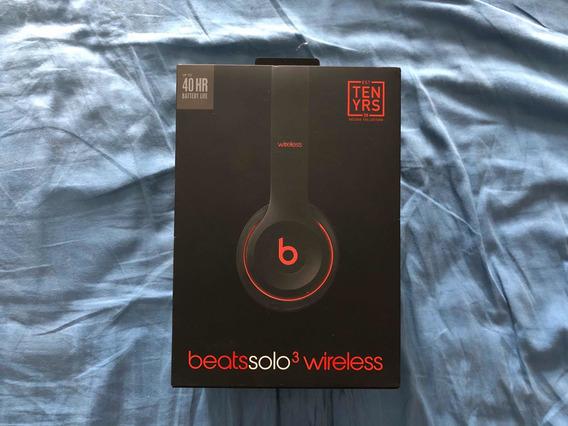 Fones De Ouvido Bluetooth Beats Solo 3 - Edição 10 Anos