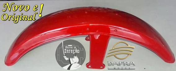 Paralama Dianteiro Dafra Super 100 Vermelho Novo E Original