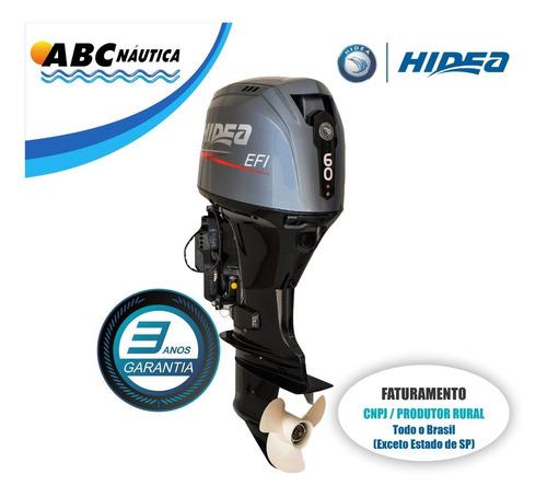 Motor De Popa 60hp 4t Hidea  Leia Anúncio
