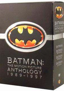 Dvd : Batman: The Motion Picture Anthology 1989-1997 (gi...