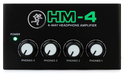 Preamplificador De Auriculares Mackie Hm-4 Hm4