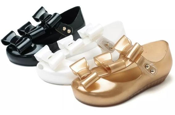 Zapatos Niña Mini Melissa Mary Jane 13 Al 18 Cm 3 Colores