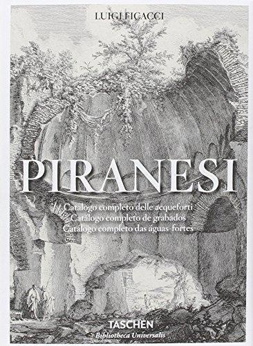 Piranesi Catálogo Completo De Grabados -  - Ficacci, Luigi