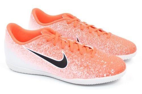 E Tênis Indoor Mrcra Vapor 12 Clu Laranja Nike 22099