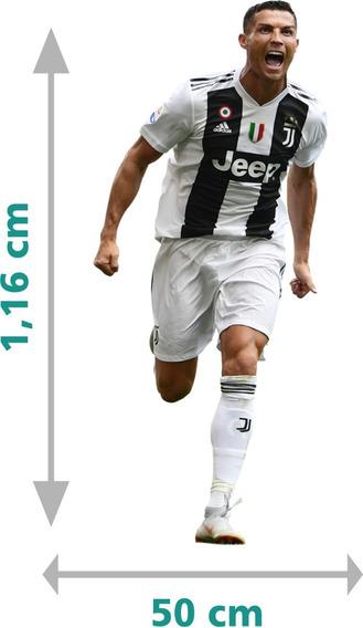Adesivo Cristiano Ronaldo Cr7 Juventus Quarto + Nome Filho