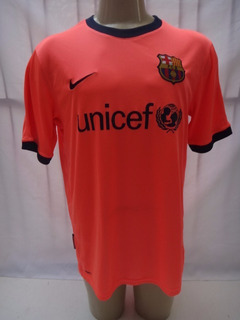 Camisa Futebol Do Barcelona Nike 2009 2010 L Unicef Away Yf3