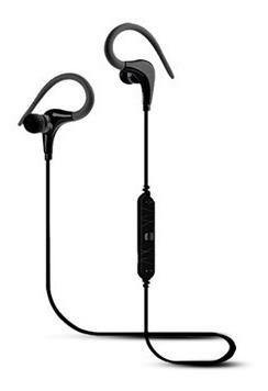 Fone Ouvido Intra-auricular Bluetooth Esporte Preto Elsys