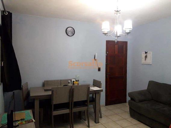 Apartamento Com 2 Dorms, Jardim Maria Rosa, Taboão Da Serra - R$ 175 Mil, Cod: 3984 - V3984