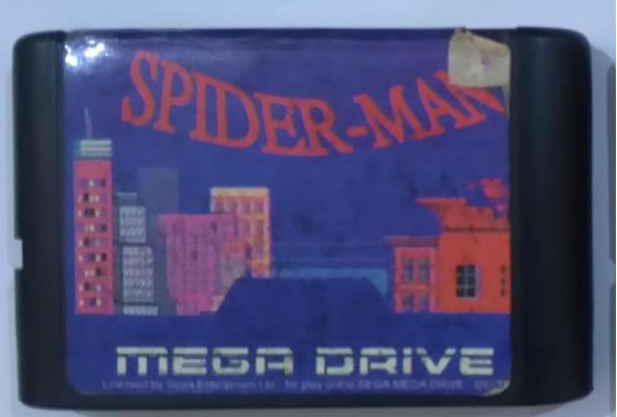 Cartucho Spiderman Mega Drive