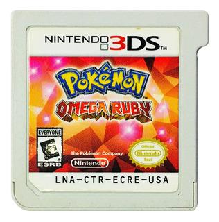 Pokemon Omega Ruby + 719 Pokemon + Objetos Nintendo 2ds 3ds