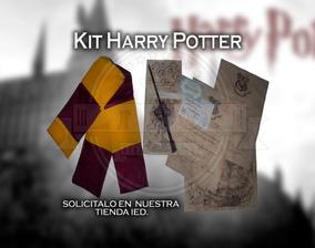 Harry Potter Mega Kit- Varita,bufanda Y Mas.