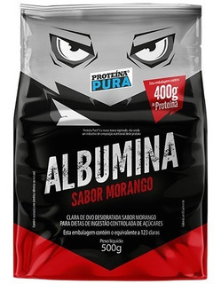 Albumina Pura 500g 6 Deliciosos Sabores - Proteína Pura