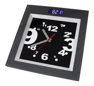 Balança Corporal Digital Com Relógio Incoterm 28004 Banheiro