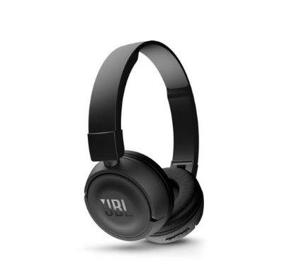 Fone De Ouvido Jbl T450bt Pure Bass Com Bluetooth - Preto