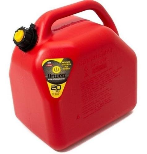 Bidón Combustible Driven Plástico 20lt Homologado.