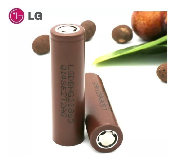 Bateria Lg Hg2 18650 Chocolate 3000mah Vaporizador Vape