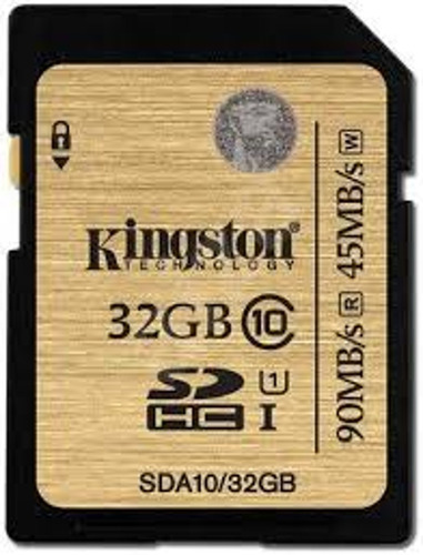 Cartão Sdhc Kingston Classe 10 32gb Sd10vg2/32gb Original