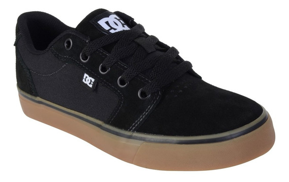 Dc Tênis Dc Shoes Anvil 2 La Preto Marrom