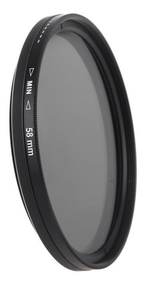 Filtro Nd 2-400 Variável 58mm Fujifilm Sigma Yongnuo Rokinon